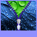 Raindrops Zipper Lock Screen icon