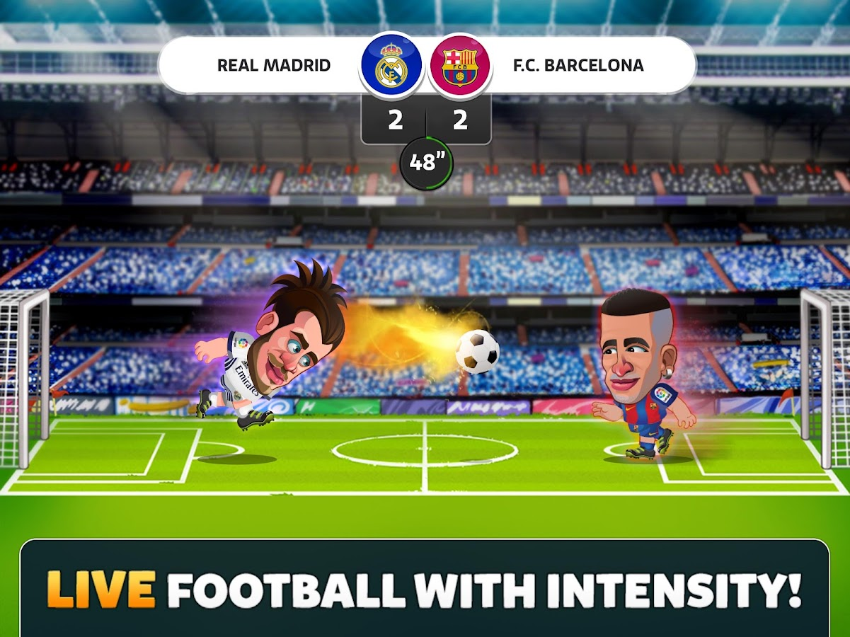 Head Soccer La Liga 2017- screenshot