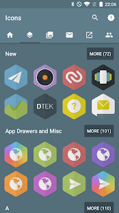 Hexacon - Icon Pack Screenshot