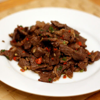 Hunan Beef with Cumin.