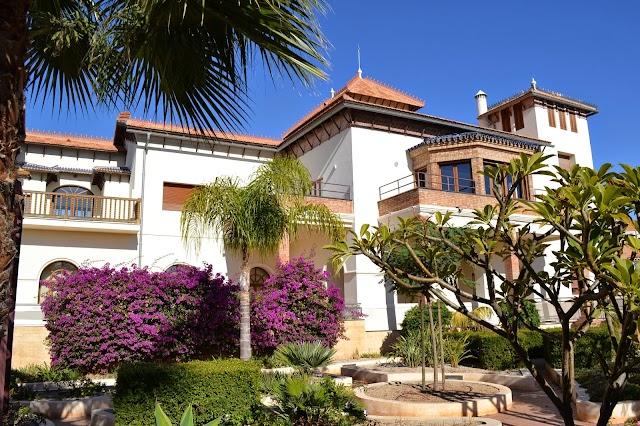Jardines de la Casa del Cine, en el barrio de Villablanca.