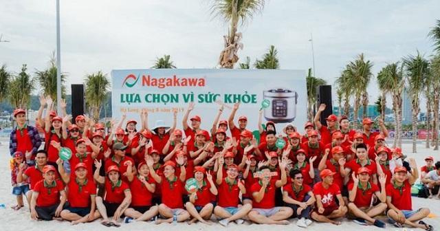 Mẫu áo đồng phục team nhóm Building du lịch đi biển đẹp màu đỏ nổi bật