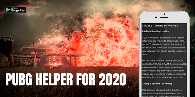 Download 2020 helper for PUBGe battle royale on mobile For PC Windows and Mac apk screenshot 2