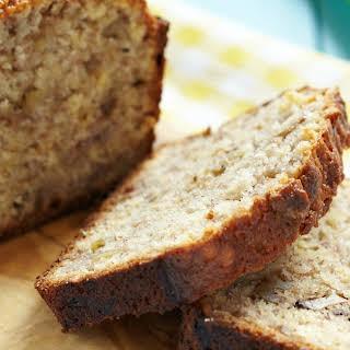 The Best 6-Ingredient Banana Bread.