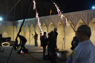 Photo: Light Extravaganza in the courtyard