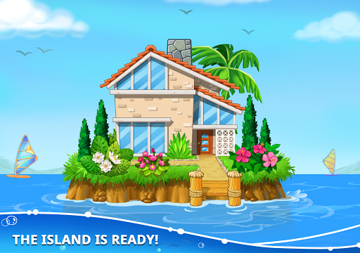 Build an Island. Kids Games for Boys. Build House screenshots 12