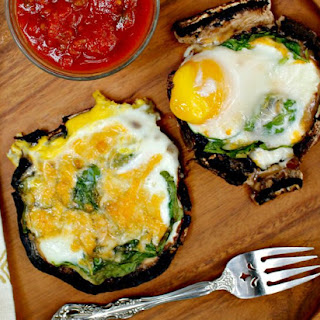 Portobello Mushrooms With Eggs Recipes.