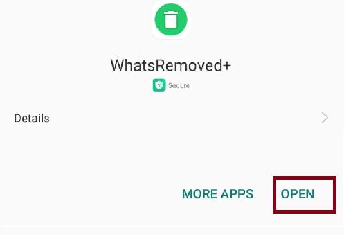Open WhatsRemoved+
