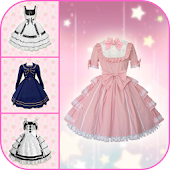 Maid Cafe Dress Photo Maker