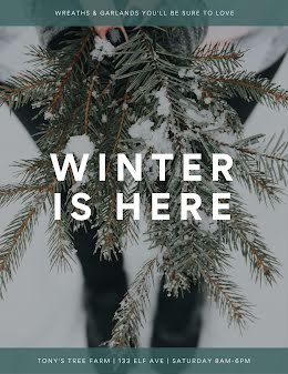 Winter Is Here - Poster item