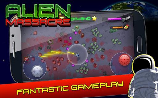 Alien Massacre v1.0.894 APK (Mod Damage+Ammo)
