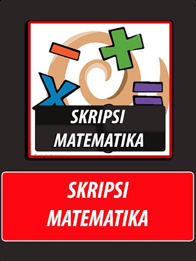 Skripsi Matematika