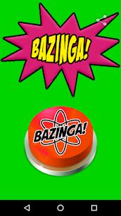Bazinga! Button - náhled