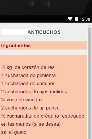 玩免費生活APP|下載Anticuchos app不用錢|硬是要APP