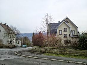 Photo: Auf dem Gelling - links geht es zur Hasencleverstraße (,Kringel'-Weg / Pilgerweg).