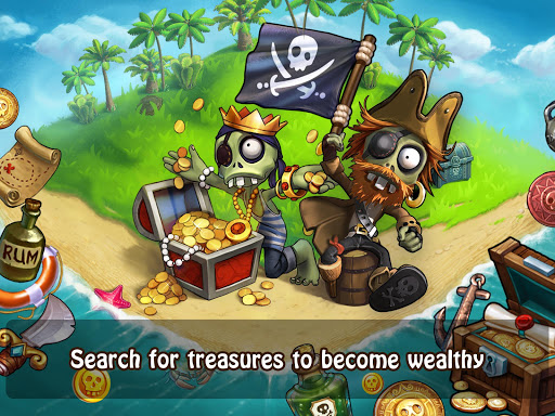 Zombie Castaways(Mod Money)