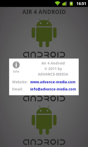 Air 4 Android 1.1 Developer Apk for Android 5