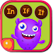 Kindergarten kids Learning English Rhyming Words Icon