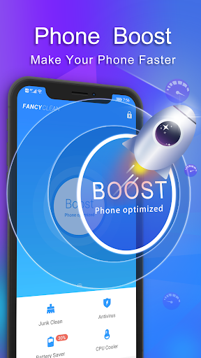 Fancy Cleaner 2020 - Antivirus, Booster, Cleaner 4.0.9 screenshots 2