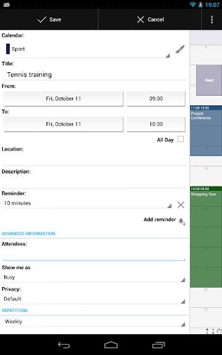 Business Calendar Beta screenshot 20