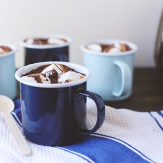 Boozy Orange Hot Chocolate