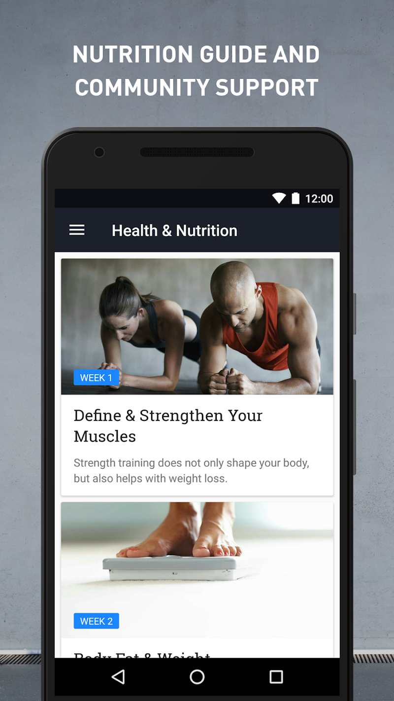 Runtastic Results Home Workouts & Personal Trainer Screenshot 3