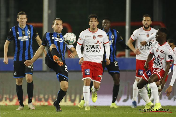 Ongeïnspireerd Club Brugge komt niet verder dan brilscore tegen rode lantaarn en is leider af