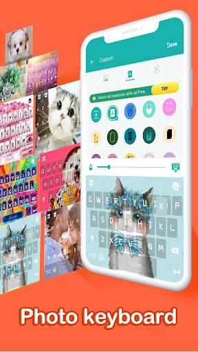 u2764ufe0fEmoji keyboard - Cute Emoticons, GIF, Stickers 3.4.2117 screenshots 6