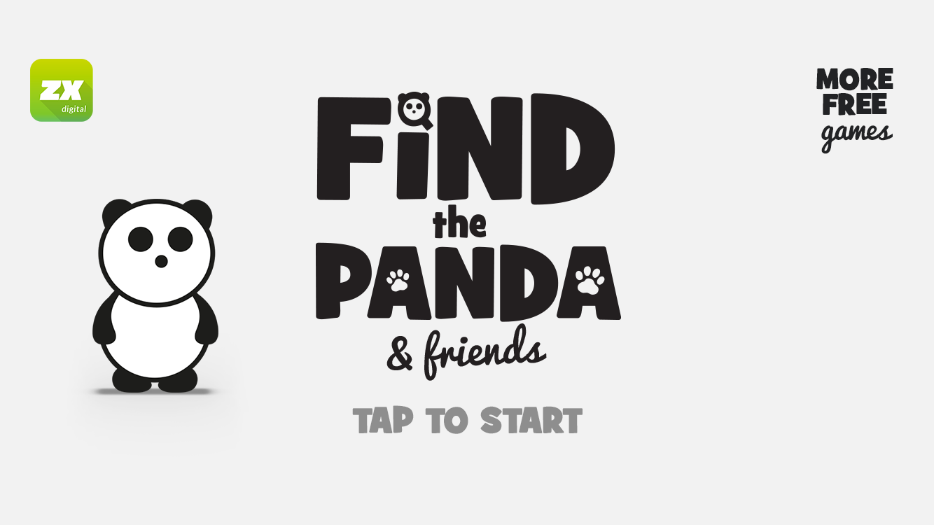 Find The Panda & Friends- screenshot
