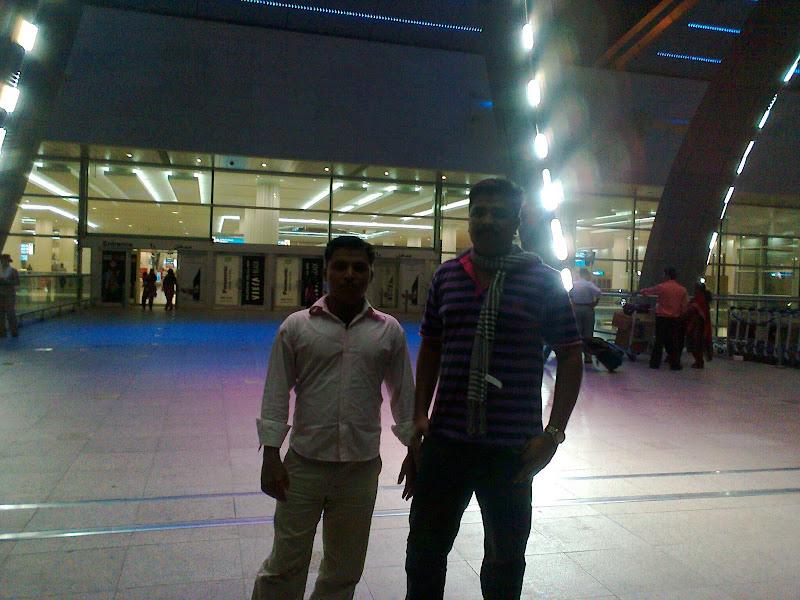 Photo: Santhosh and Mr.Mobin
