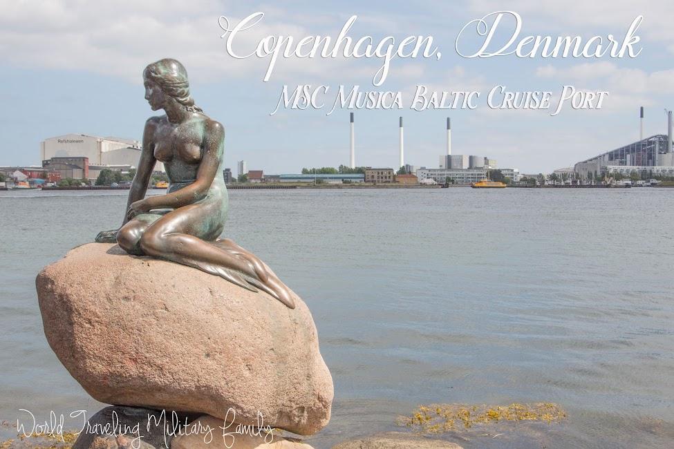 Copenhagen, Denmark - MSC Musica Baltic Cruise Port