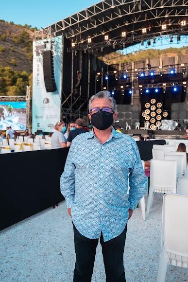 Santiago Alfonso, miembro del Grupo Cosentino, respondió preguntas a La VOZ