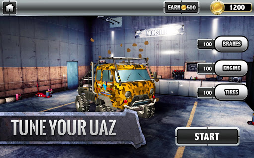 ud83dude97ud83cudfc1UAZ 4x4: Dirt Offroad Rally Racing Simulator android2mod screenshots 4