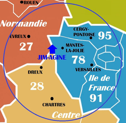 CARTE DIAGNOSTICS IMMOBILIERS INTERVENTION YVELINES / EURE / EURE ET LOIR JIM-AGINE 3