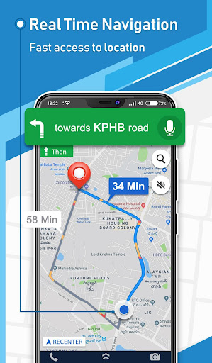 Offline GPS - Maps Navigation & Directions Free 1.8 Screenshots 1
