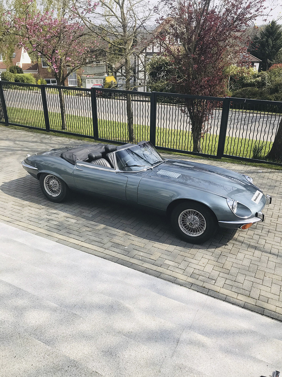 Jaguar E Type V12 Roadster Hire Cuffley, Herts