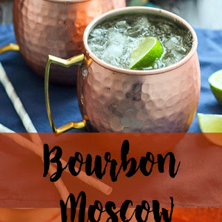 Bourbon Moscow Mules.