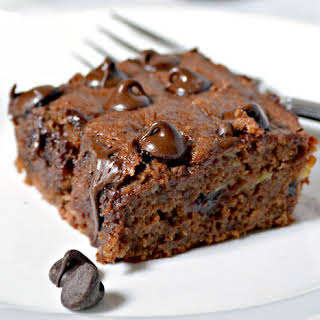 Moist Chocolate Banana Cake.