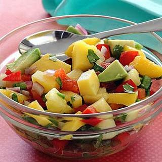 Paleo Mango-Pineapple Salsa