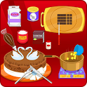 Chocolate royal cake game icon