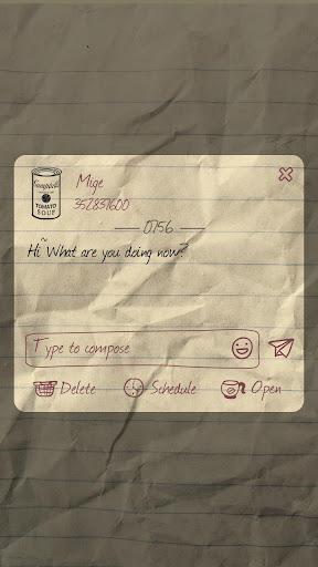 免費下載個人化APP|GO SMS PRO WRITING THEME app開箱文|APP開箱王