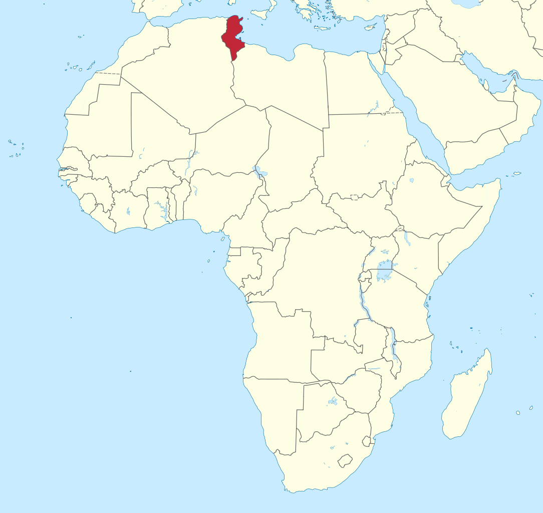 Map Of Tunisia In Africa | Africa Map