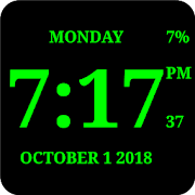 Digital Clock Live Wallpaper-7