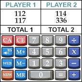 Score Keeper Gaming Calculator