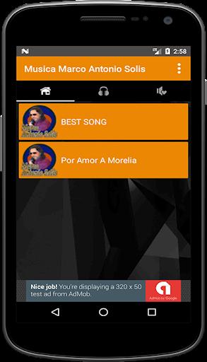 Musica Marco Antonio Solis Mp3 + Letra screenshot 2