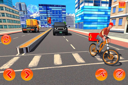 bmx bicycle pizza delivery boy 2019 screenshot 3