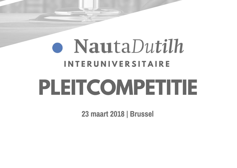Pleitwedstrijd NautaDutilh