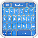Blue Glitter Keyboard icon