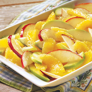 Orange Apple Salad.