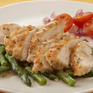 Citrus Herbed Chicken with Asparagus